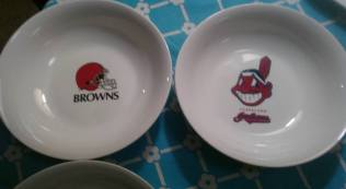reines browns & indians bowls