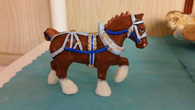 small clydesdale horse CC