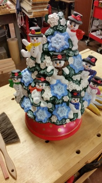snowman tree for Linda CC