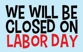closedon labor day clipart