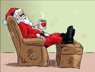 clipart-santa-resting