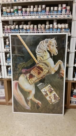 carousel-horse-usps-poster