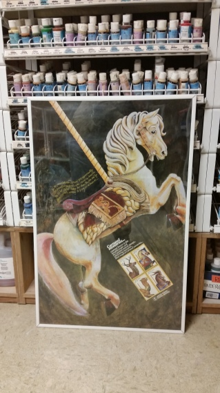 carousel-horse-usps-poster