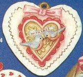 Alberta Ornaments 0294 Valentine Heart