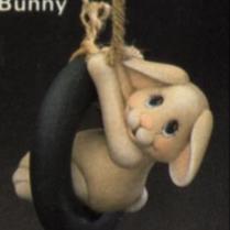 Clay Magic 0612 swinging bunny