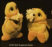 Dona 0313 soft sculpture ducks
