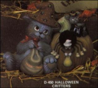 Dona 0450 Halloween Critters
