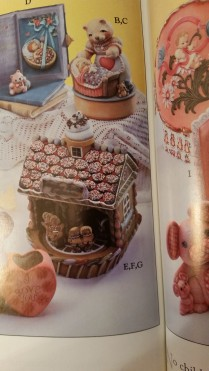Gare 09720973 0974 Gingerbread House Music Box