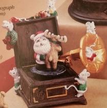 Gare 2839 Christmas Phonograph