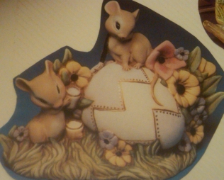 Kimple 0676 mice painting egg
