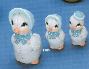 Kimple 1165 three ducks with hats