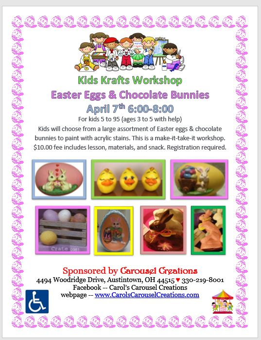 KK Easter Eggs & Chocolate Bunnies 4-7-2017
