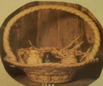 Scioto 0074 large Easter basket