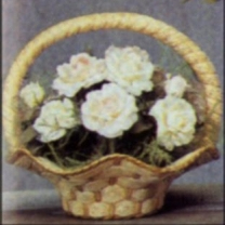 Scioto 0257 scalloped basket