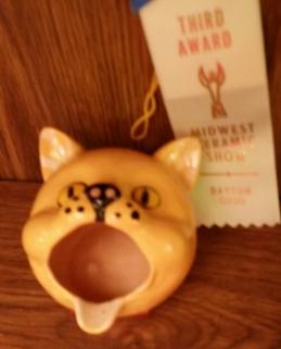 cat ashtray Alive MCS17
