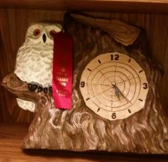 owl clock Bonnie MCS17