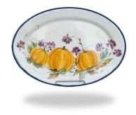 Pumpkins & Mums Harvest Plate
