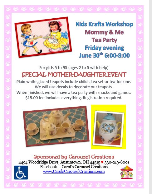 KK Mommy & Me Tea Party 6-30-17 POSTER