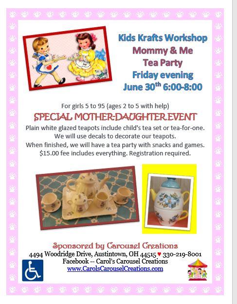 KK Mommy & Me Tea Party 6-30-17 POSTER