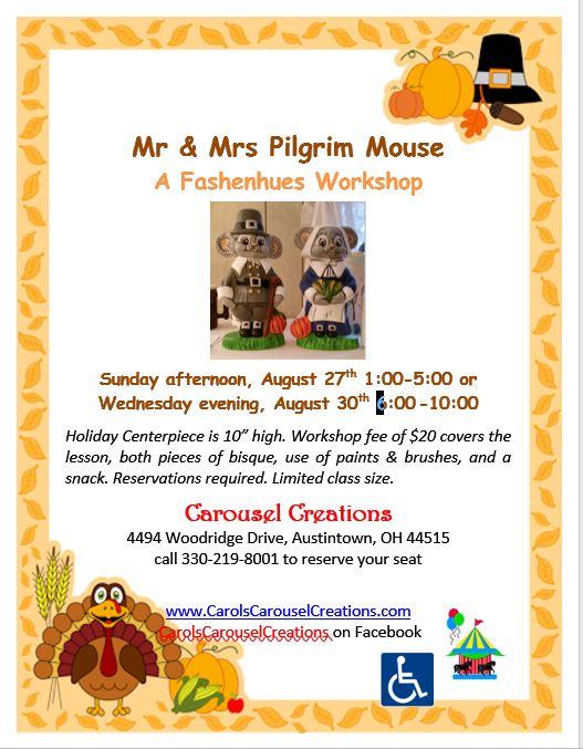 Mr & Mrs Pilgrim Mouse WS POSTER 8-27 & 8-30-17