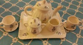 childs tea set with decals CC