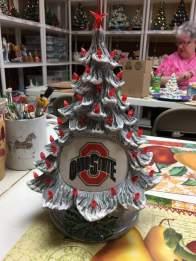 FB TREE OHIO STATE GREY