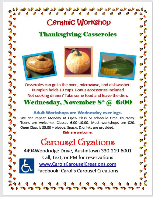 WS 11-8-2017 THANKSGIVING CASSEROLES