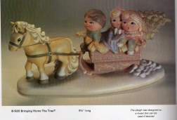 Byron 520 sleigh with horse kids tree