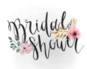 clipart bridal shower