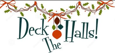 clipart deck the halls