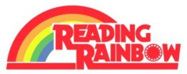 clipart reading rainbow