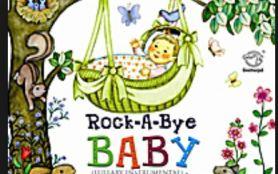 clipartrock-a-bye baby