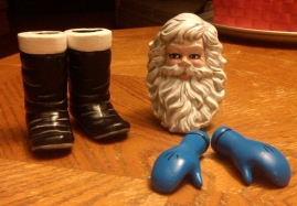 Dona 0946 Santa doll parts