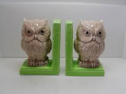 Duncan 0245 plain bookend with owl
