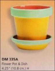 Duncan 0335a flower pot