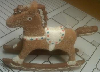 Duncan 1101 rocking horse gingerbread