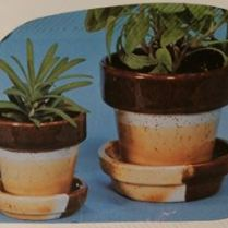 duncan 334 small flower pots