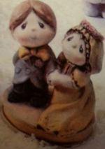 Gare 0811 Tender Tot Bride & Groom