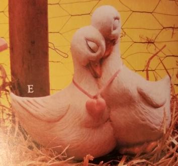 Gare 1210 Cuddling Lover Ducks