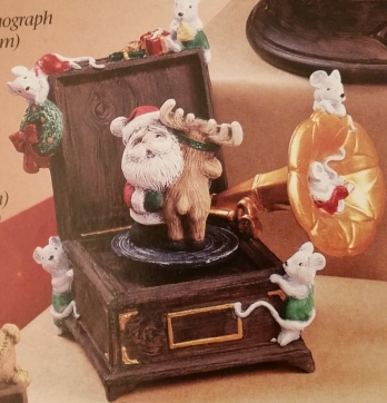 Gare 2839 Christmas Phonograph