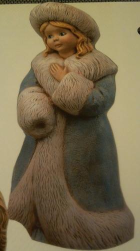 girl statue - Winter Romance