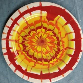 glaze rakking plate Carol