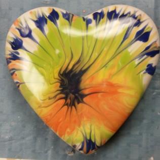 heartbox glaze raking Jim glazed