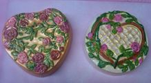 hearts and roses lids