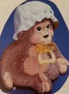 Kimple 0917 soft stuffed monkey