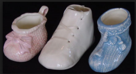 Lone Star 771 three baby shoes