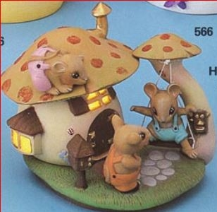 nibble nook house 5323 with mice