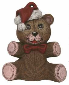 Nowell 0402 teddy bear ornament