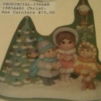 Provincial 336 carolers