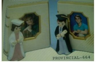 Provincial 664 & 665 Book Picture Frame & Graduate